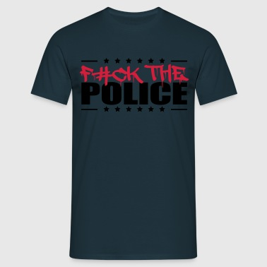 Logo Design Fuck The Police - Men's T-Shirt