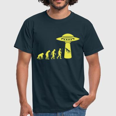 Alien Evolution - Männer T-Shirt