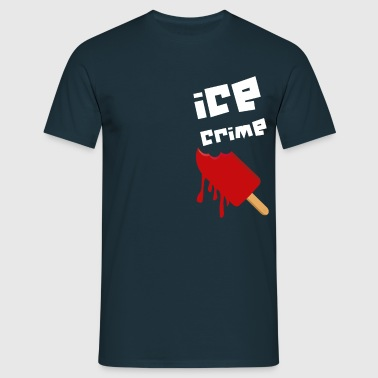 ICE CRIME blanc - T-shirt Homme