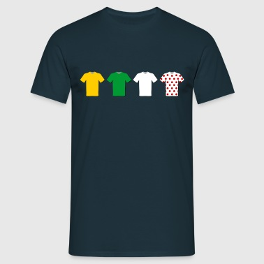 Tour de France Jerseys  - Men's T-Shirt