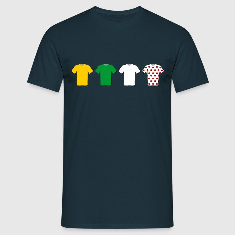 Tour de France Trikots - Männer T-Shirt