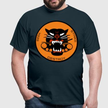 Black Panther Tank Destroyer WWII - Men's T-Shirt