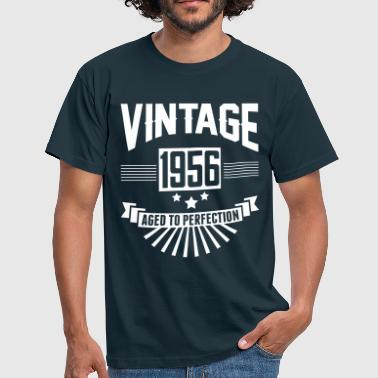 VINTAGE 1956 - Aged To Perfection  - Men's T-Shirt