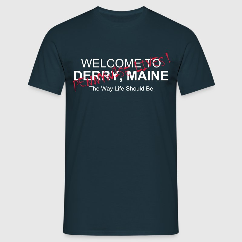 Derry, Maine - Pennywise - Men's T-Shirt
