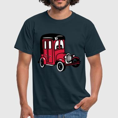 oldie classic car car car car funny - Men's T-Shirt