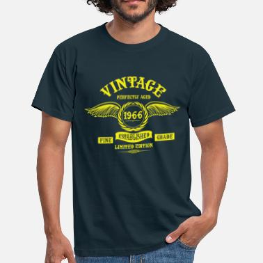 Made In 1966 All Original Parts Vintage Perfectly Aged 1966 - Men's T-Shirt