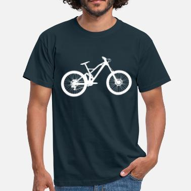 downhill  - Herre-T-shirt
