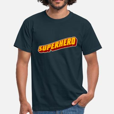 Superheroes superhero - Men's T-Shirt