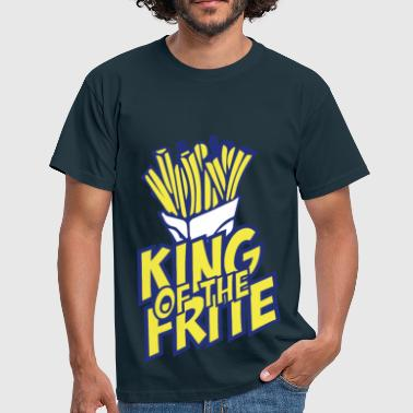 Frites  Nord Pas De Calais NPDC King of the frite  - T-shirt Homme