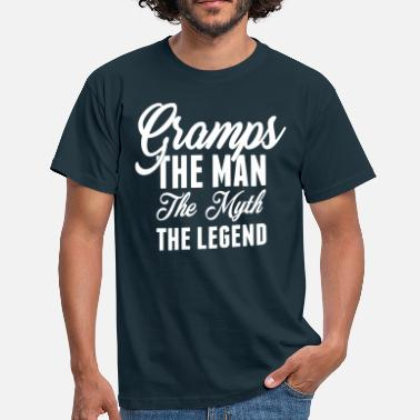Gramps Gramps The Man The Myth The Legend - Men's T-Shirt
