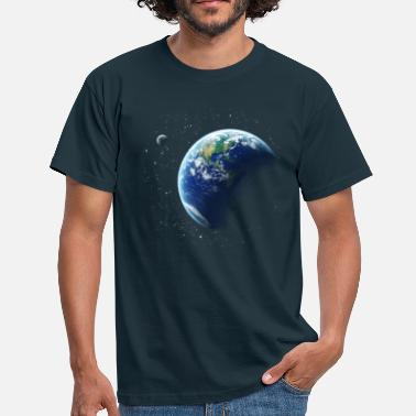 Space Earth T-Shirts - Men's T-Shirt
