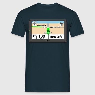 GPS - Left - Men's T-Shirt