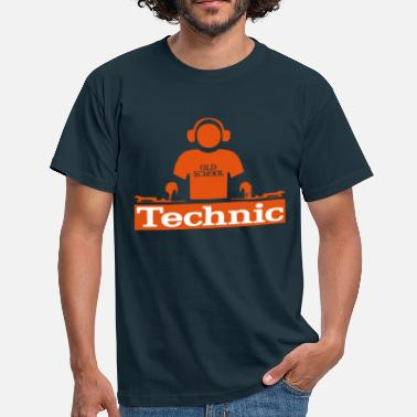 Hiphop Urban technic dj t-shirt - Men's T-Shirt