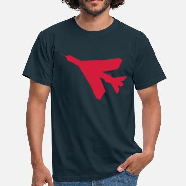 English Electric Lightning BAC English Electric Lightning Silhouette - Men's T-Shirt