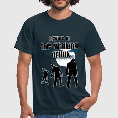 walking drunk - Men's T-Shirt