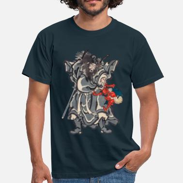 Japanse Demon Hunter Shōki - Mannen T-shirt
