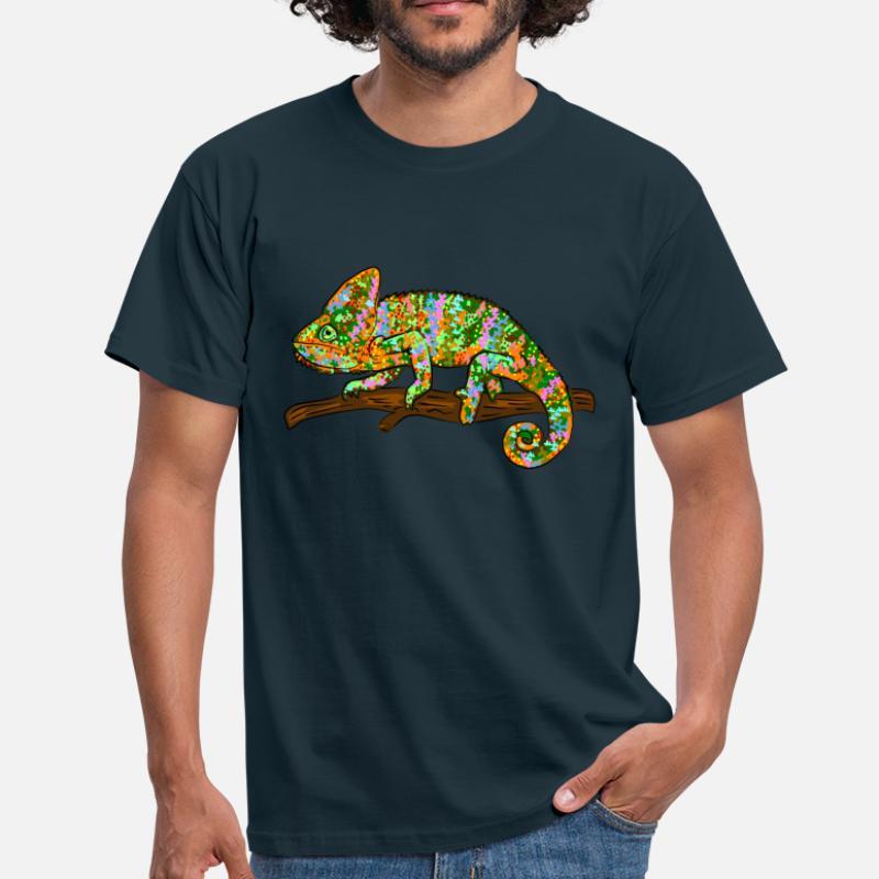 Caméléon À Ligne Commander T Spreadshirt Shirts En UOZq6