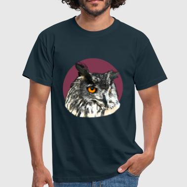 hibou grand duc - T-shirt Homme