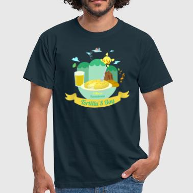 Independence Day Tortilla´s Day - Camiseta hombre