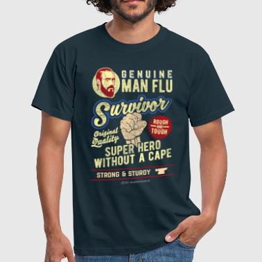 Man Flu Survivor - T-shirt herr