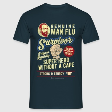 Man Flu Survivor - Männer T-Shirt