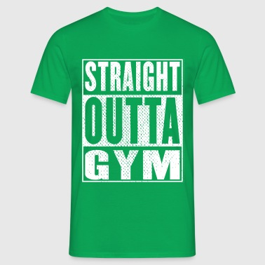 Straight Outta Gym Vintag - Men's T-Shirt