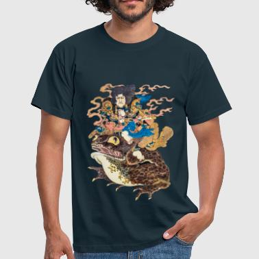 Tokubei doing the Gama Yojutsu - Men's T-Shirt
