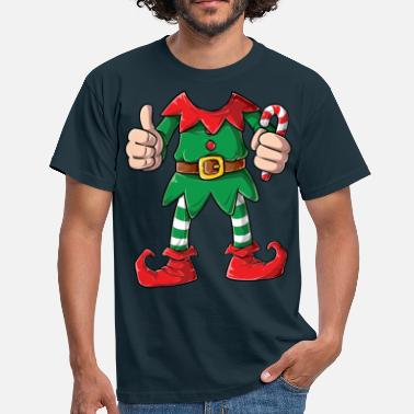 Kostüm Elf Christmas Costume Holiday - Männer T-Shirt