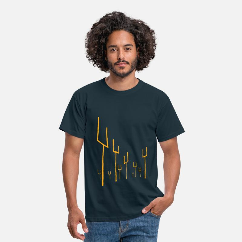 Origin T-Shirts - Origin of Symmetry Artwork - Men's T-Shirt navy