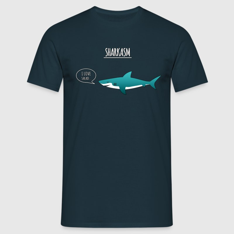 sharkasm - Men's T-Shirt