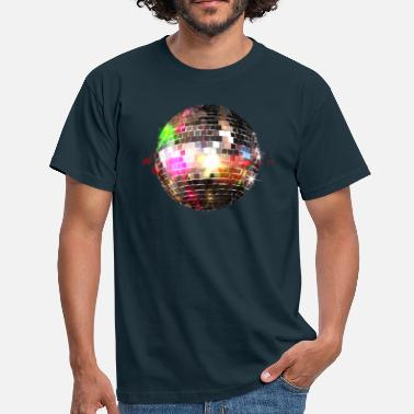 Glitter Demidesign Disco ball - Mannen T-shirt