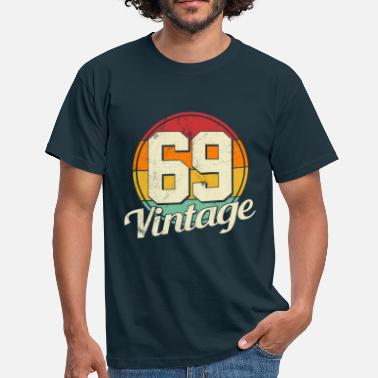 50 Years 50th Birthday - Vintage 1969 50 years gift - Men's T-Shirt
