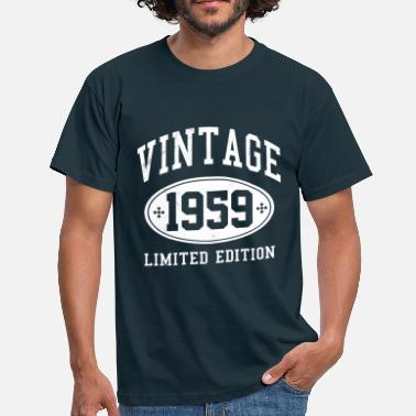 60th 60th Birthday - Vintage 1959 Gift - Men's T-Shirt