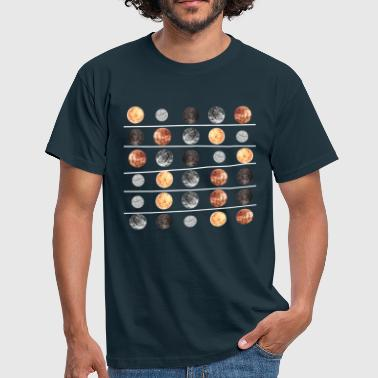 Planets Planets - Men's T-Shirt