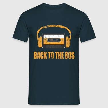 back to the 80s - Männer T-Shirt