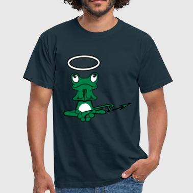Devils-tail Frog Angel Devil Halo Devil tail - Men's T-Shirt