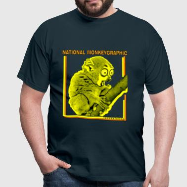 National monkeygraphic - Camiseta hombre