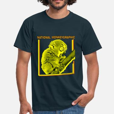 Geographic National monkeygraphic - Men's T-Shirt