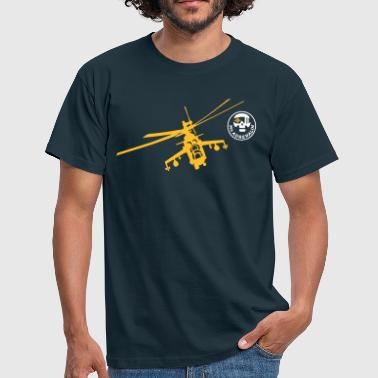 Helicopter Mi-24 - Men's T-Shirt