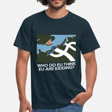 Fuck The Eu Dad's Army Brexit - Men's T-Shirt