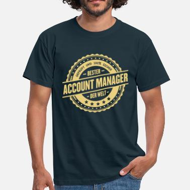 Account Manager Bester Account Manager - Männer T-Shirt