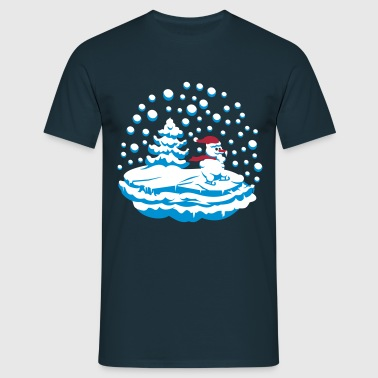 snow man - T-shirt Homme