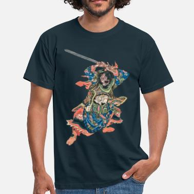 Japanese Tattoo Chinese Warrior - Men's T-Shirt