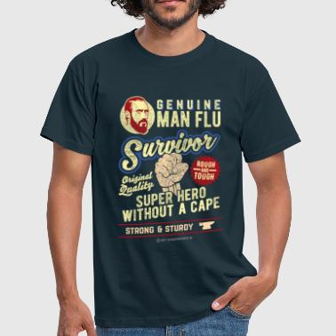 Man Flu Survivor - T-skjorte for menn