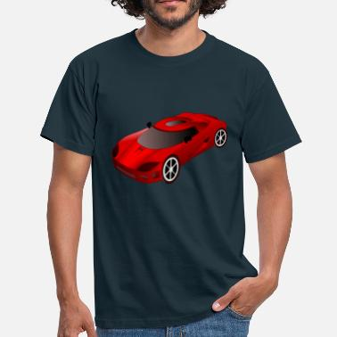 Autocross vehikel - T-shirt herr