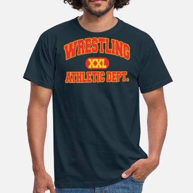 Wwc Wrestling Athletic Department - Men's T-Shirt