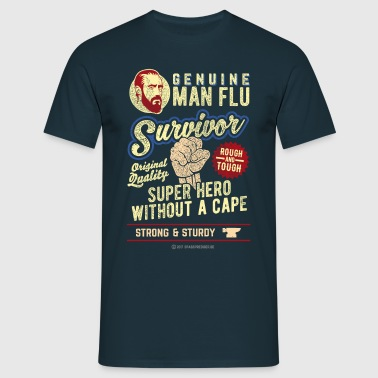 Man Flu Survivor - T-shirt Homme