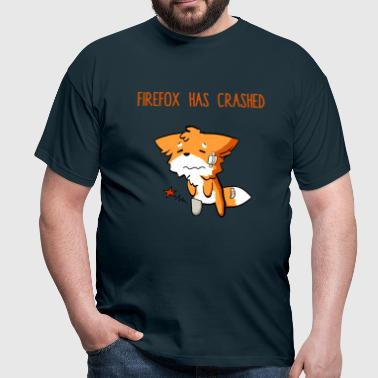 Firefox has crashed - Men's T-Shirt