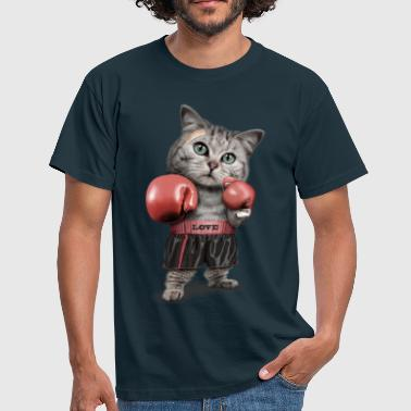 BOXING CAT - Men's T-Shirt