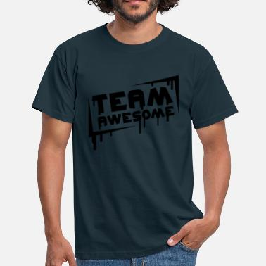 Team Awesome Team Awesome - Miesten t-paita